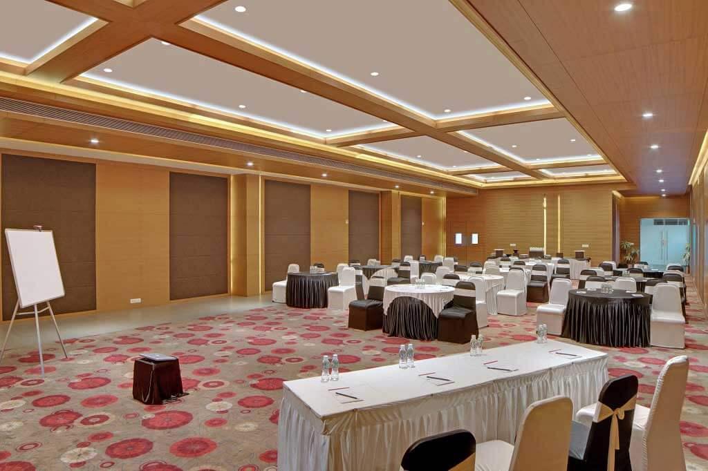 Meetings & Conferences Hall Near infocity, Mahatma Mandir Gandhinagar - Ahmedabad Koba Highway